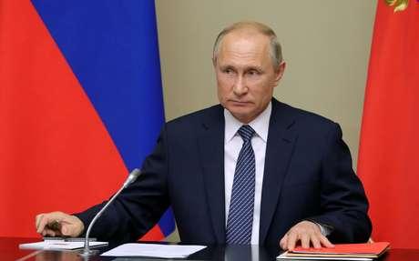 Presidente russo, Vladimir Putin 05/08/2019 Sputnik/Mikhail Klimentyev/Kremlin via REUTERS