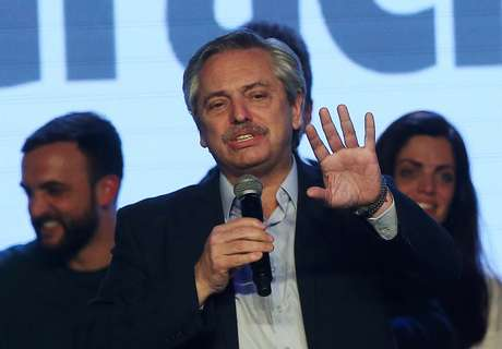 Candidato de oposição à presidência da Argentina, Alberto Fernández 13/08/2019  REUTERS/Agustin Marcarian