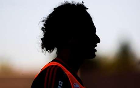 Imagens de Willian Arão pelo Flamengo