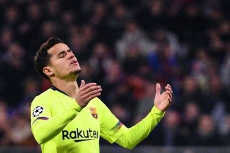 Coutinho perdeu espaço no Barcelona (Foto: AFP)