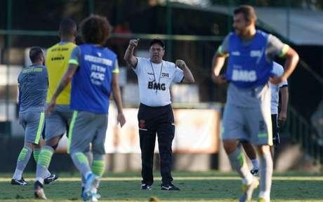 Luxemburgo intensificou os treinamentos do Vasco depois de assumir o time (Foto: Rafael Ribeiro/Vasco.com.br)
