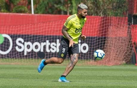Gabriel Barbosa voltará a defender o Flamengo após dois jogos como desfalque (Foto: Alexandre Vidal/Flamengo)