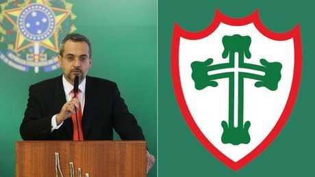 Ministro da Educação, Abrahim Weintraub, ironizou a Portuguesa no Twitter (Foto: Divulgação)