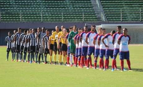 Botafogo empatou com o Bahia em Salvador (Foto: Divulgação / EC Bahia)
