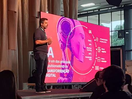 O vice-presidente de Dados e Inteligência Artificial da Vivo, Luiz Medici