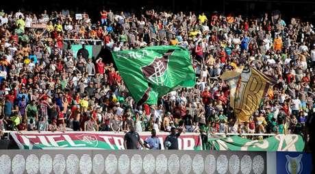 Flu abriu venda de ingressos para partida em São Paulo (Foto: LUCAS MERÇON / FLUMINENSE F.C.)