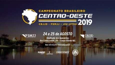 Campeonato Brasileiro Centro-Oeste terá a segunda edição neste mês em Campo Grande (MS) (Foto: Divulgação)