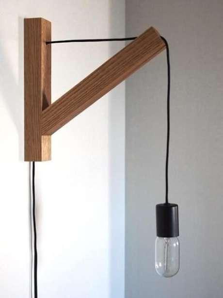 28. Arandelas externas de madeira