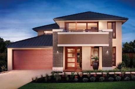 18. Arandelas externas para muro na fachada da casa