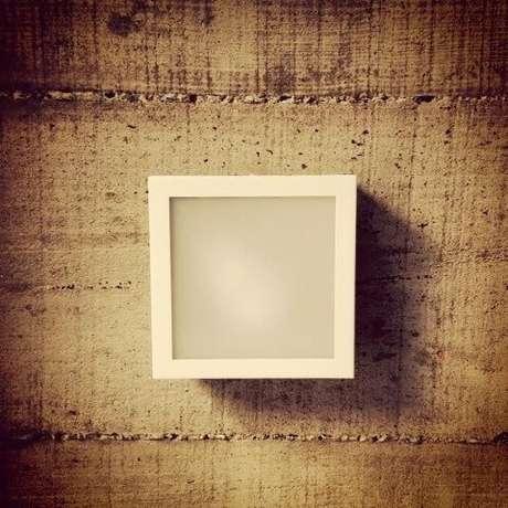 39. Arandelas externas modernas quadradas. Projeto de Cals Arquitetos