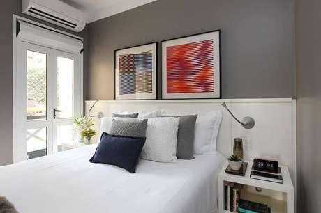 1. O projeto da Now Arquitetura apresenta cores para quartos neutras e detalhes aconchegantes