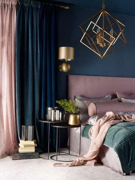 82. Cores para quartos rosa, azul e verde – Por: Revista VD