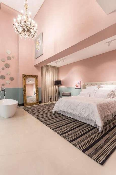 83. Cores para quartos rosa e azul – Por: Jean Felix