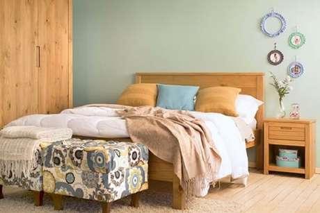 13- As cores para quartos em tons azul claro deixam o ambiente leve e suave. Fonte: Minha Casa Minha Cara