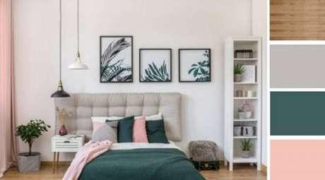 16- As cores para quartos precisam combinar e destacar os móveis. Fonte: Dicas de Arquitetura