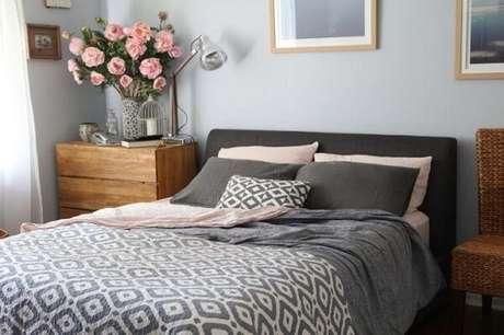 18- As cores para quartos de casal refletem a personalidade dos usuários. Fonte: IStock