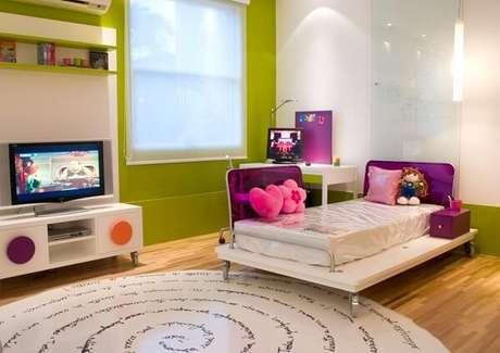 32 As cores para quartos infantis podem transmitir uma sensação de aconchego. Fonte: Marília Veiga
