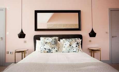23- As cores para quartos em tons neutros ajudam a decorar com mais facilidade o ambiente. Fonte: Blog da Arquitetura