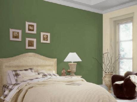28- As cores para quartos devem ser harmonizadas com tons contrastantes. Fonte: Transforme sua Casa