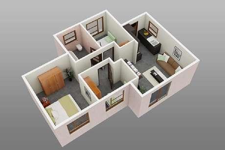 13. Em casas pequenas a iluminação é muito importante.