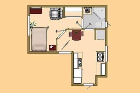 24. Por menor que seja a casa simples, tendo um projeto é mais fácil torná-la aconchegante.