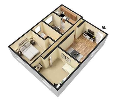 23. É necessário ter a planta para construir uma casa pequena que seja bonita e funcional