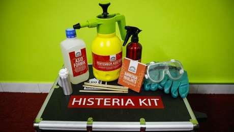 Kit anti-histeria custa mais de R$ 8 mil