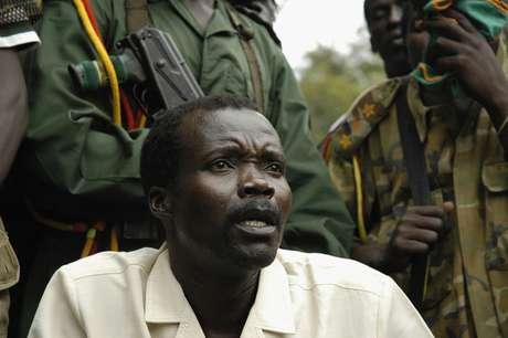 Joseph Kony, líder do Exército de Resistência do Senhor (LRA), em 2006