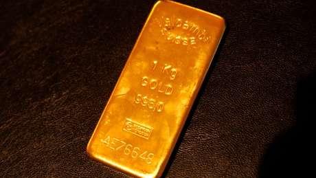 Cotação do ouro superou os US$ 1,5 mil pela primeira vez em seis anos