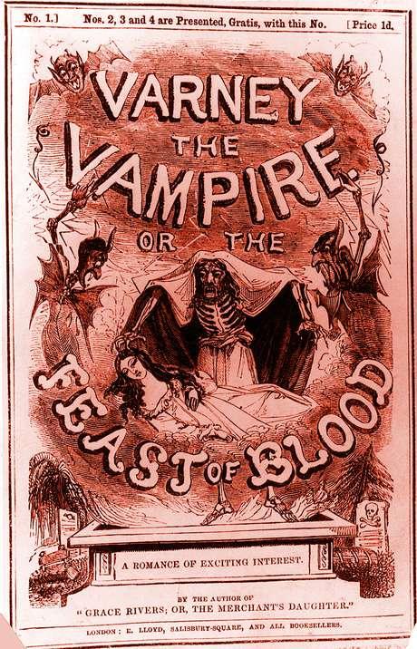 Depois da suposta 'epidemia', vampiros invadiram a literatura