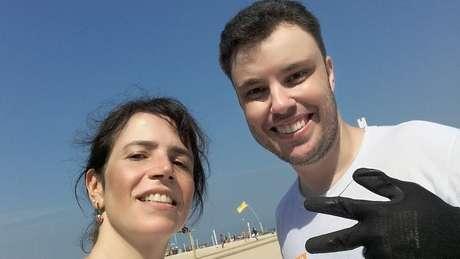 Os juizes Thiago Mafra e Mônica Cardoso trabalharam de garis para a Comlurb, empresa que faz a limpeza do RJ