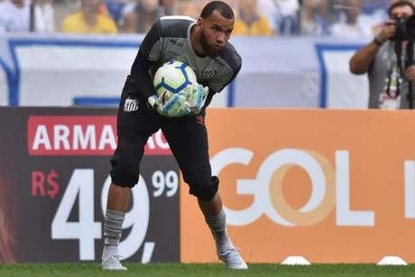 Everson lamentou a ausência de Victor Ferraz no Santos (Ivan Storti/Santos)