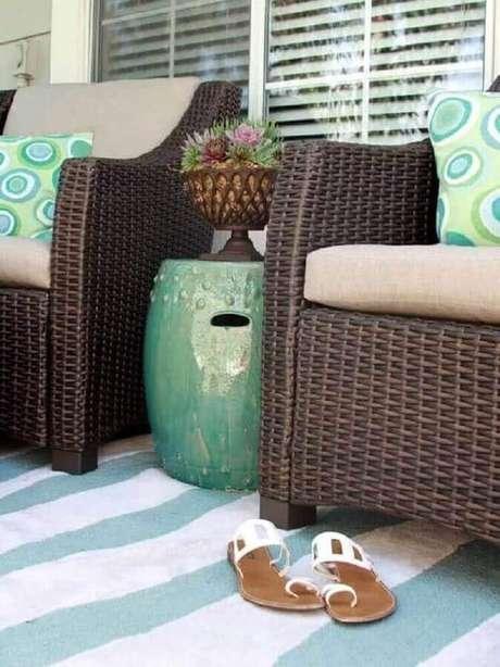 10. O seat garden pode ser usado de diferentes formas e em diferentes ambientes – Foto: Blog da Flaviana