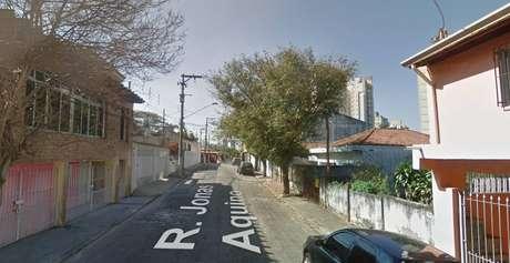 Rua onde o assassinato ocorreu no Butantã, São Paulo