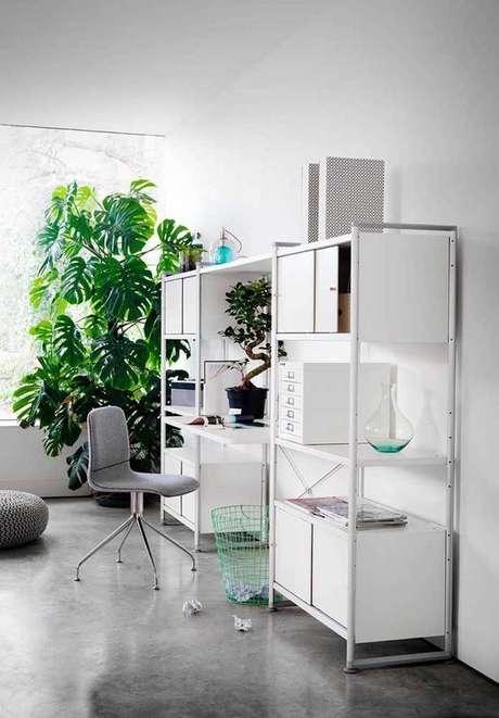 47. Lofts usam muito a Costela de Adão como elemento decorativo. Foto: Decor Fácil