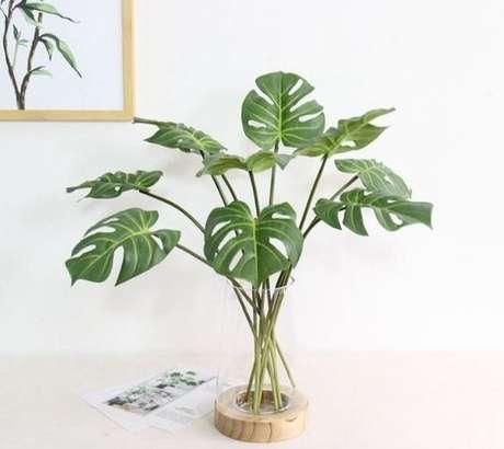 19. As folhas isoladas da Costela de Adão podem ser usadas de muitas formas. Foto: Etsy