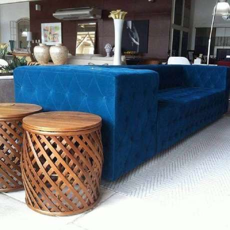 29. O garden seat pode ser feito em diferentes tipos de materiais – Foto: Novo Projeto