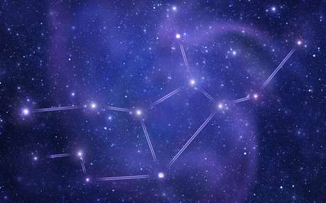 Constelação do signo de virgem