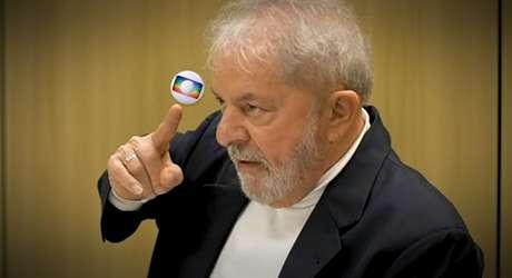"""O ex-presidente se mostra indignado com a Globo: """"Endeusam o Moro"""""""