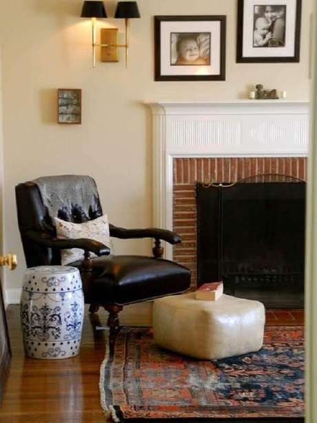 2. O garden seat pode se tornar o principal item decorativo do ambiente – Foto: Brandani Decore