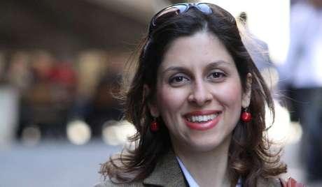 Ativista humanitária britânico-iraniana Nazanin Zaghari-Ratcliff.  Concedida pela família à REUTERS