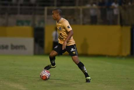 Sandry comemora seu retorno à Seleção Sub-17 (Ivan Storti/Santos FC)