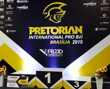 Pretorian realizou evento de Jiu-Jitsu de alto nível em Brasília (Foto: Divulgação)