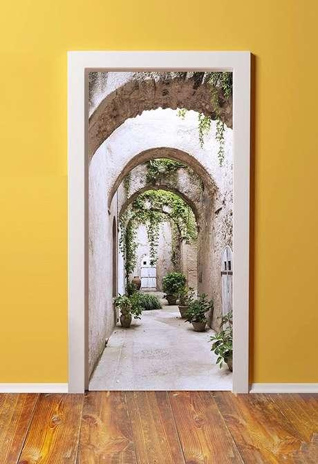 1. O adesivo de porta é uma forma divertida de customizar uma casa. Foto: Ali Express