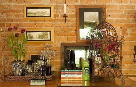 30. Traga um toque de romantismo para a decoração do ambiente. Fonte: Casa e Jardim