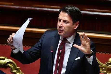 Conte entrega pedido de demissão ao presidente da Itália