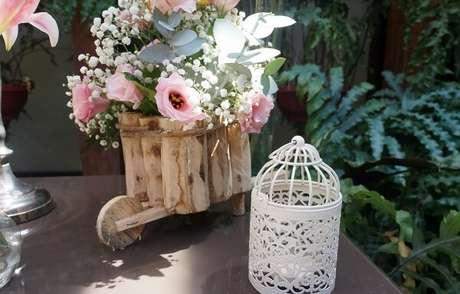 46. Gaiolas decorativas para casamento de dia. Fonte: Pinterest