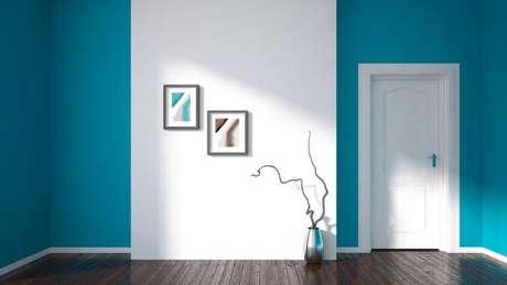 20. Pinturas de casas internas em turquesa – Por: Blog da Linea