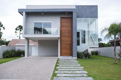26. Use detalhes de pinturas de casas cinza para ter um ambiente elegante e lindo – Por: Revista VD