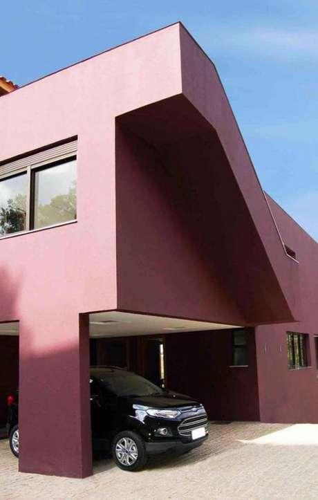 35. As pinturas de casas em tons de vermelho podem ser super modernas – Por: Ideais Decor